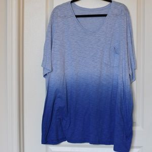 Catherines Blue Ombre Tee
